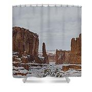 Arches Park Avenue Shower Curtain