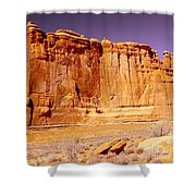 Arches Wall Shower Curtain