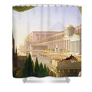 Architects Dream Shower Curtain