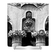Architectural Detail - Barcelona - Spain Shower Curtain