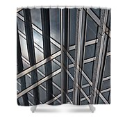 Architectural Lines Shower Curtain