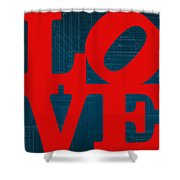 Architectural Love Shower Curtain