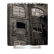 Architectural Ruins Shower Curtain