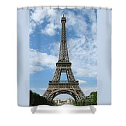 Architectural Standout Shower Curtain