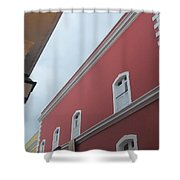 Architecture And Lantern 2 Shower Curtain