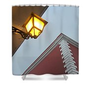 Architecture And Lantern 3 Shower Curtain