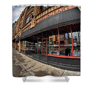 Architecture And Places In The Q.c. Series Bacchus Restaurant Shower Curtain