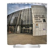Architecture And Places In The Q.c. Series Becpl Shower Curtain