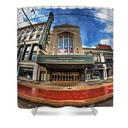 Architecture And Places In The Q.c. Series Shea's Shower Curtain