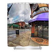 Architecture And Places In The Q.c. Series Spot Shower Curtain