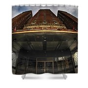 Architecture And Places In The Q.c. Series The Statler Towers Shower Curtain