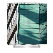 Architecture And Shadows Shower Curtain
