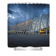architecture by Calatrava Shower Curtain