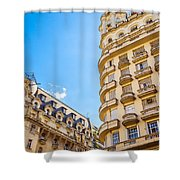 Architecture In Buenos Aires Shower Curtain