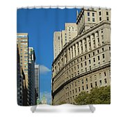 Architecture In New York City Shower Curtain