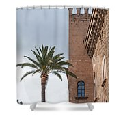 Architecture In Old Palma. Shower Curtain