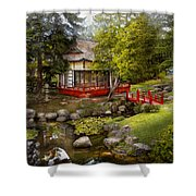 Architecture - Japan - Tranquil Moments  Shower Curtain
