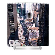 Architecture New York Ny Usa Shower Curtain