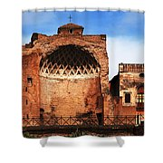 Architecture Of Italy Shower Curtain