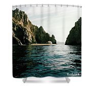Archway At Cabo Shower Curtain