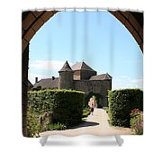 Archway Chateau Of Berze Shower Curtain