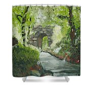 Archway In Central Park Shower Curtain