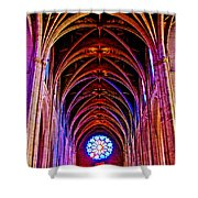 Archway In Grace Cathedral In San Francisco-california Shower Curtain