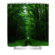 Archway Of Light Shower Curtain
