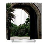 Archway Pillnitz Castle Shower Curtain