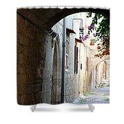 Archway Rhodos City Shower Curtain