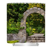 Archway To The Secret Garden Shower Curtain