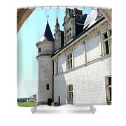 Archway View Chateau Amboise Shower Curtain