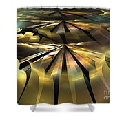 Arcminute Shower Curtain