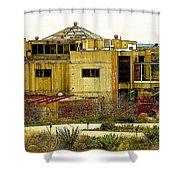 Arcosanti II Shower Curtain