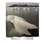 Arctic Ice Floe Shower Curtain