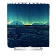 Arctic Lights Shower Curtain