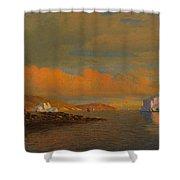 Arctic Sunset Shower Curtain