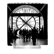 Are We In Time... Shower Curtain