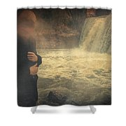 Are You There ? Shower Curtain
