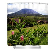 Arenal Costa Rica Shower Curtain