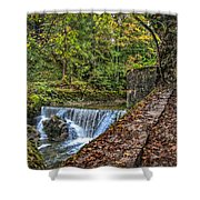 Areuse Gorge Shower Curtain