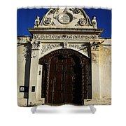 Argentinian Door Decor 3 Shower Curtain