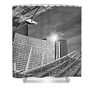 Aria Sun - Aria Resort And Casino At Citycenter In Las Vegas Shower Curtain