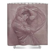 Ariayl Shower Curtain
