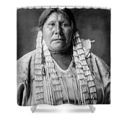 Arikara Woman Circa 1908 Shower Curtain by Aged Pixel