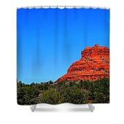 Arizona Bell Rock Hdr Shower Curtain