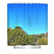 Arizona Bell Rock Shower Curtain