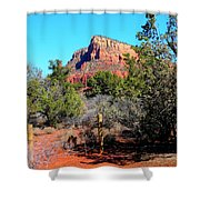 Arizona Bell Rock Valley N3 Shower Curtain