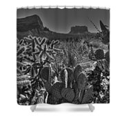 Arizona Bell Rock Valley N6 Shower Curtain
