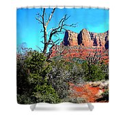Arizona Bell Rock Valley 1 Shower Curtain